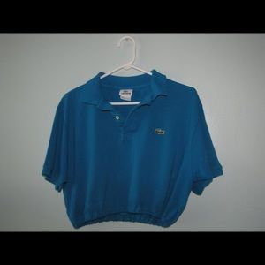 Lacoste polo shirt with elastic waist